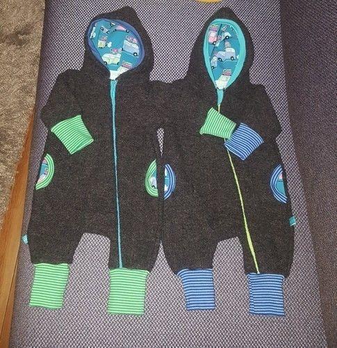 Makerist - Jolly Jumper aus Wolle Größe 56/62 für Zwillinge - Nähprojekte - 1
