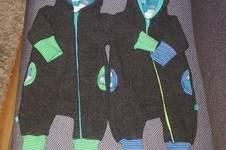 Makerist - Jolly Jumper aus Wolle Größe 56/62 für Zwillinge - 1