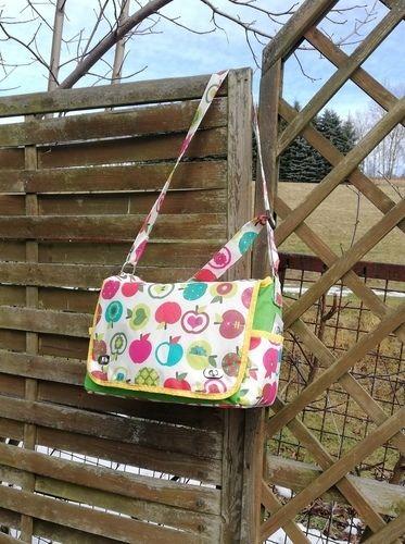 """Makerist - Meine """"Apfeltasche"""" für meine Schwester von ART VAN MIL BAGS - Nähprojekte - 2"""