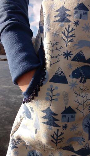 Makerist - Teen Hipster Dress Sweat-Kleid mit Kuschelkapuze - Nähprojekte - 3