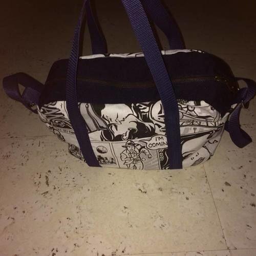 """Makerist - Tasche """"Lotti"""" im Comic Style - Nähprojekte - 1"""