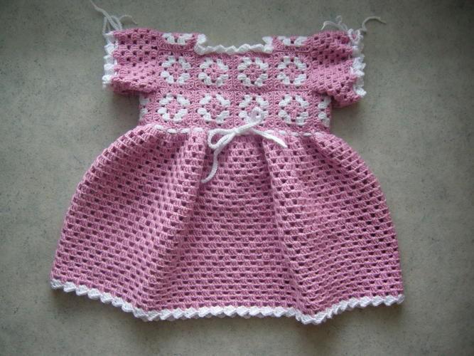 Makerist - Babykleidchen für Größe 68/74 - Häkelprojekte - 1