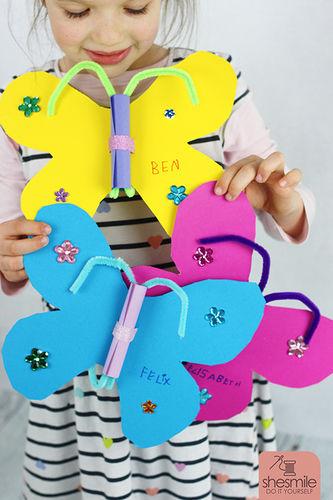 Makerist - Schmetterling-Einladung - DIY-Projekte - 1