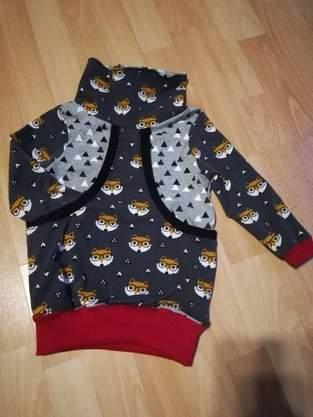 Makerist - Taschenhoodie Aurelia Aurelio für meinen Sohn aus jersey  - 1