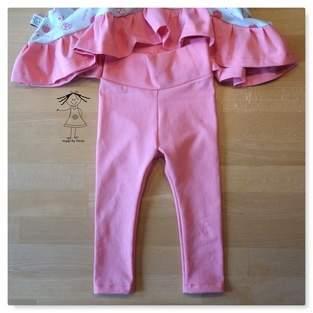Makerist - Freebook Babyleggings von Lesulu - 1