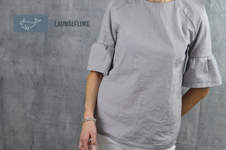 Makerist - Bluse Adelheid von Schneidernmeistern als Kurzarmversion - 1
