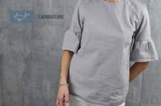 Makerist - Bluse Adelheid von Schneidernmeistern als Kurzarmversion - 1