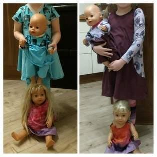 Makerist - Partnerlook Puppen und Puppenmamas 😀 - 1