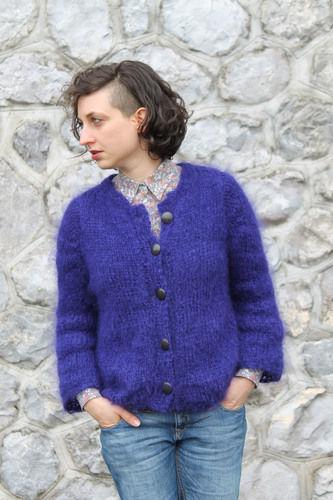 Makerist - Cardigan Shifumi - Créations de tricot - 1