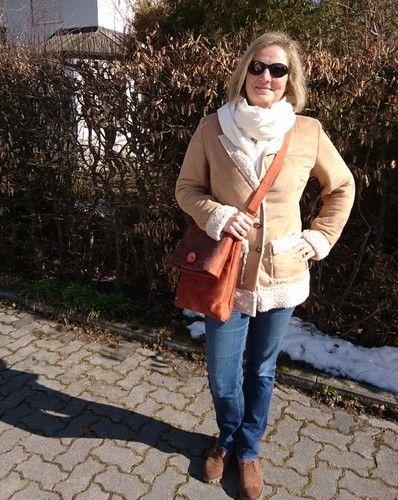 Makerist - Clarice Mantel aus Wildleder-Schaffell-Imitat - Nähprojekte - 1