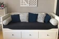 Makerist - Sofalandschaft/Kissen für das Hemnes Tagesbett - 1