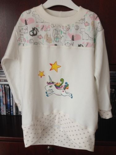 Makerist - Traumshirt für meine Enkeltochrer - Nähprojekte - 1