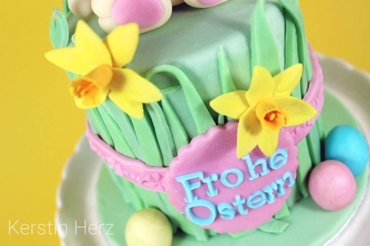 Makerist - Ostertorte - Torten, Cake Pops und Cupcakes - 3