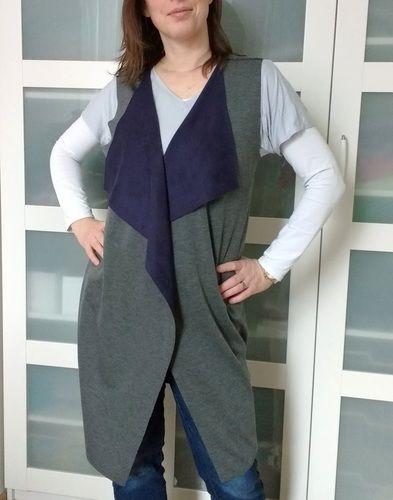Makerist - Ärmellose Weste von FashionTamTam - Nähprojekte - 2