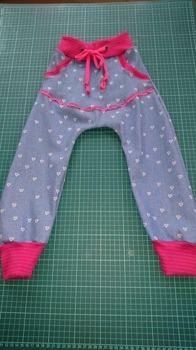 Makerist - Mädels Jeans  - Nähprojekte - 1