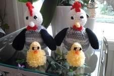 Makerist - Mes poulettes de pâques  et leurs poissins - 1