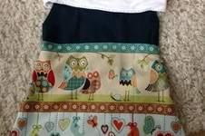 Makerist - Babykleidchen mit Eulen - 1