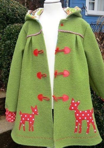 Makerist - Mantel Gretchen für mein Enkelmädchen Paulina - Nähprojekte - 1