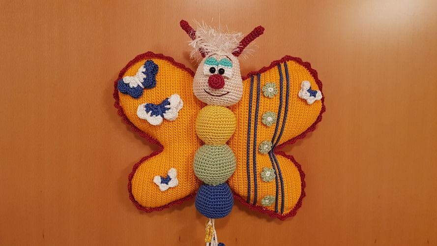 Makerist - Lach-mit-mir Schmetterling - Häkelprojekte - 1