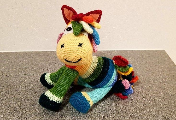 Makerist - Hippiepferd Lotte - Häkelprojekte - 1