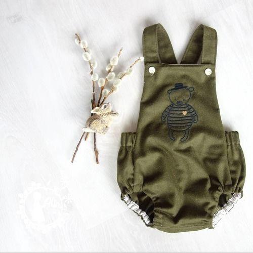 Makerist - Trägerhose Hugo für unseren kleinen Babymann - Nähprojekte - 1