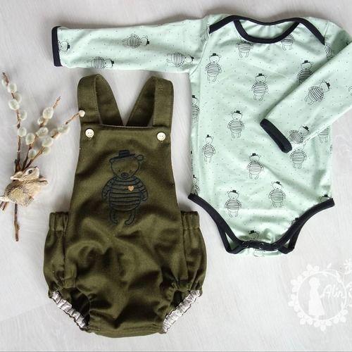 Makerist - Trägerhose Hugo für unseren kleinen Babymann - Nähprojekte - 2