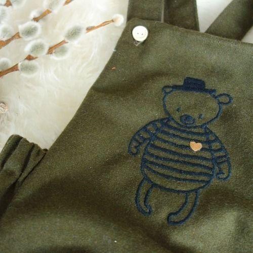Makerist - Trägerhose Hugo für unseren kleinen Babymann - Nähprojekte - 3
