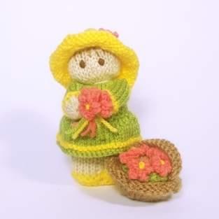 Makerist - Flower Garden Bitsy Baby Doll - 1