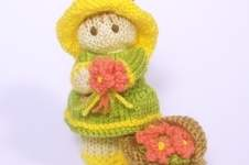 Makerist - Flower Garden Bitsy Baby Doll - 1