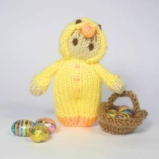 Makerist - Easter Chick Bitsy Doll - 1