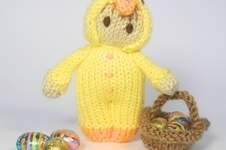 Makerist - Easter Chick Bitsy Doll - 1