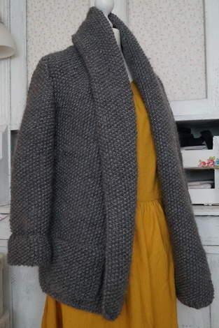 Makerist - Strickjacken für Einsteiger - Cardigan mit Perlmuster stricken von Nina Schweisgut - 1