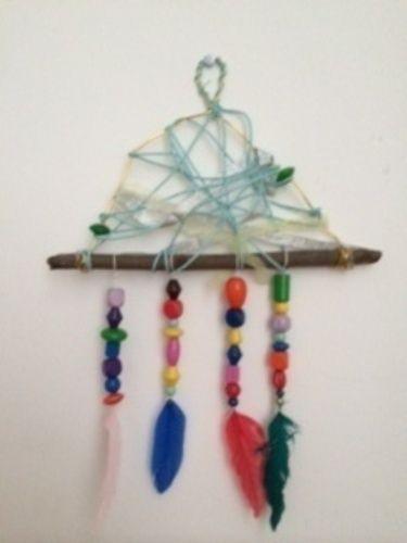 Makerist - Dreamcatcher rustikal - DIY-Projekte - 1