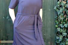 Kleid in a linie selbst nähen