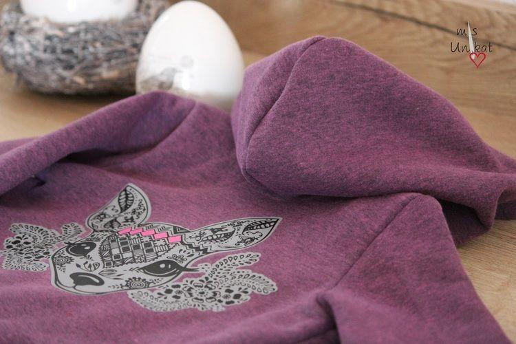 Makerist - kleines Boho Reh - Textilgestaltung - 2