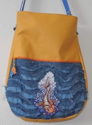Makerist - Tasche mit Fisch - 1