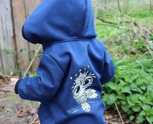 Makerist - Lybstes Jolly Jumper aus Softshell mit Baby Euli - 1