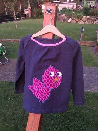 Makerist - Shirt mit Vogelapplikation für meine Tochter - Nähprojekte - 1