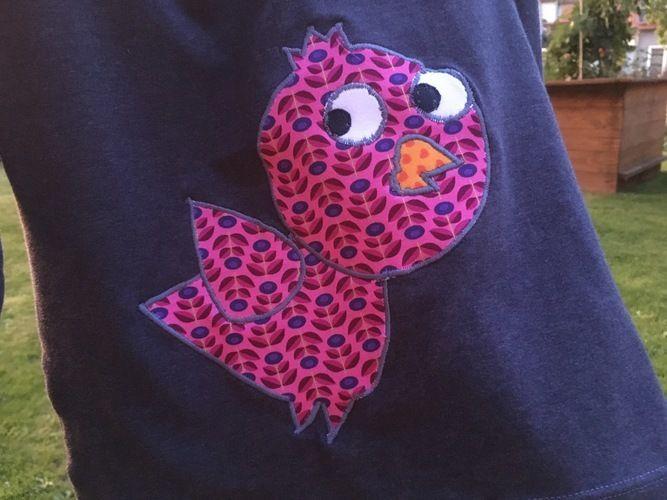 Makerist - Shirt mit Vogelapplikation für meine Tochter - Nähprojekte - 2