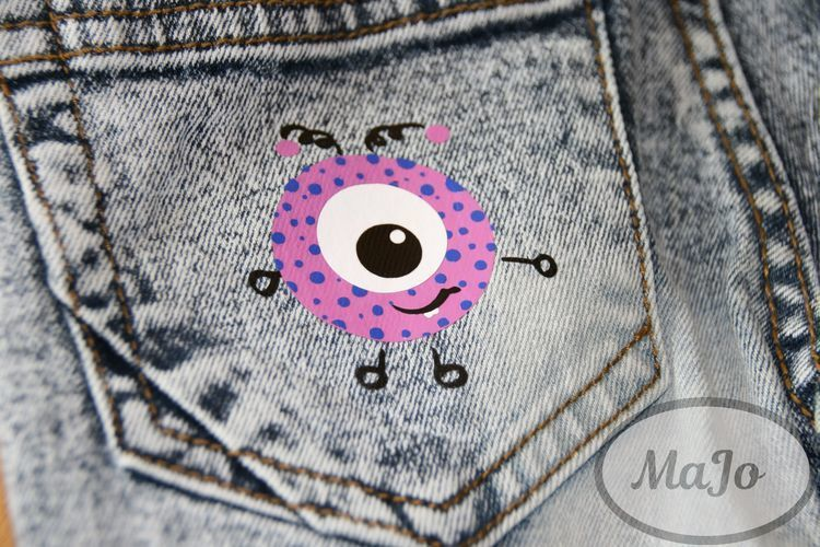 Makerist - Für das kleine Monster - Nähprojekte - 3