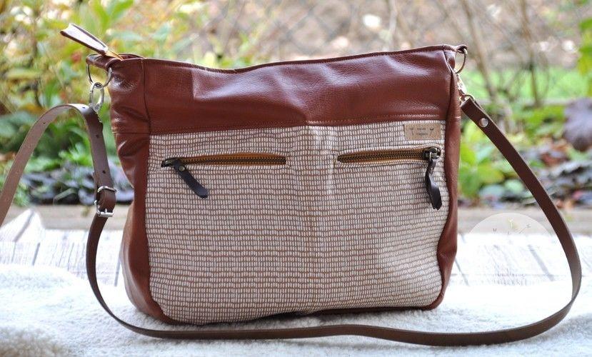 Makerist - Tasche Maha von Zaubernahanna - Nähprojekte - 1