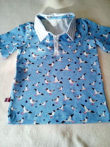 Makerist - Mein erstes Polo-Shirt für den Enkel. - Nähprojekte - 1