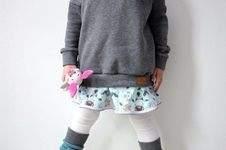 Makerist - Oversize-Pulli himmlische Mila für coole Mädchen :)  - 1
