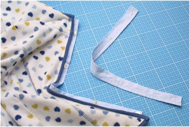 Makerist - defekter Reißverschluss durch Knopfleiste aus Herrenhemd ersetzen - Nähprojekte - 2