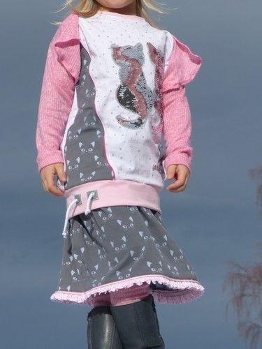 Makerist - Mädchenrock Diva aus Jersey. Gr. 104 - Nähprojekte - 1
