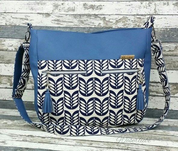 Makerist - Tasche Maha von Zaubernahnna - Nähprojekte - 1