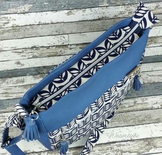 Makerist - Tasche Maha von Zaubernahnna - Nähprojekte - 3