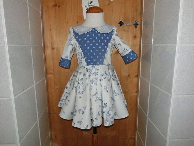 Makerist - Mädchenkleid 'Vivienne' - Nähprojekte - 1