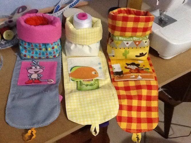 Makerist - Petit sac de transport pour les enfants pour leurs goûter  - Créations de couture - 2