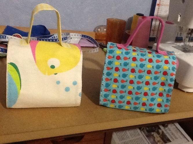 Makerist - Petit sac de transport pour les enfants pour leurs goûter  - Créations de couture - 3